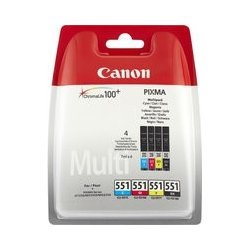 Canon Ink Cartridge CLI-551 Photo Value Pack